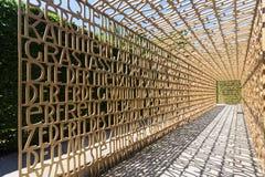 Chrześcijański ogród, ogródy świat, Berlin Obraz Stock