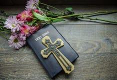 Chrześcijański Wielkanocny Wakacyjny tło zdjęcia stock