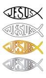 chrześcijańskie ryba royalty ilustracja