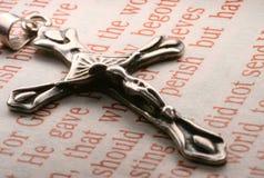 chrześcijanina krzyż Zdjęcia Stock
