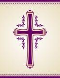 Tradycyjny chrześcijanina krzyż Obrazy Royalty Free