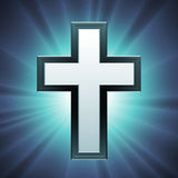 chrześcijanina krzyża wektor Obrazy Royalty Free