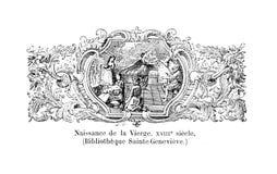 Chrze?cijanin ksi??ka Stary wizerunek royalty ilustracja
