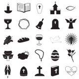 Chrześcijańskie ikony Inkasowe Obraz Royalty Free