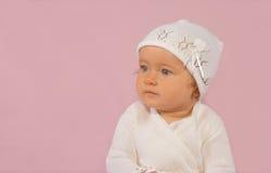 chrzest strój dziewczyny Fotografia Stock