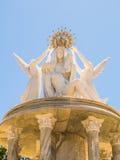 Chsitianity-Ikonen-Statue Ayamonte Stockfoto