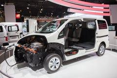 Châssis électrique de NISSAN e-NV200 Photographie stock