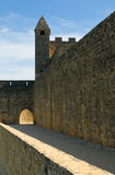 Château Beynac, château médiéval dans Dordogne Photo libre de droits
