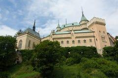 Château de Bojnice, Slovaquie Images libres de droits