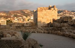 Château de Byblos. Photos libres de droits