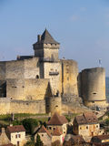 The Château de Castelnaud Stock Images