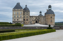 Château de Hautefor Photos stock