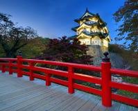 Château de Hirosaki Image libre de droits