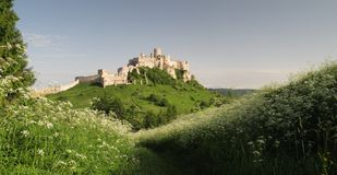 Château de hrad de Spissky Photo stock
