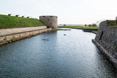 Château de Kalmar Photographie stock