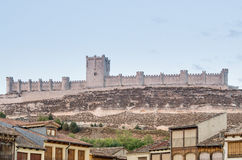 Château de Penafiel, Valladolid Photo libre de droits
