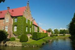 Château de Trolle-Ljungby, Suède Images libres de droits