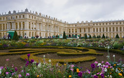 Ch�teau de Versailles Exterior Royalty Free Stock Photos
