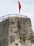 Château des Baux Stock Image