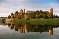 Château sur le fleuve Images libres de droits