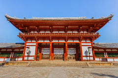Chu-mon gate of the Todaiji complex in Nara Royalty Free Stock Image