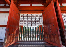 Chu-mon from the Todaiji complex in Nara Royalty Free Stock Image