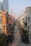 Chu River och Han Street Fotografering för Bildbyråer