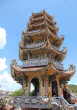 Chua Linh Phuoc Pagoda - Dalat Vietname Fotografia de Stock Royalty Free