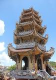 Chua Linh Phuoc pagoda - Dalat Wietnam Fotografia Royalty Free