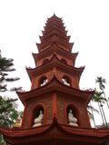 Chua-tran quoc Tempel nahe Ho Tay Lake in Hanoi, Vietnam , 29. lizenzfreie stockbilder