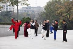 chuan morgon tai för chi Fotografering för Bildbyråer