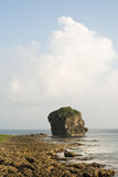 Chuanfan Rock at coastline Stock Photography