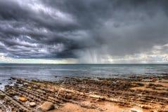 Chubasco de la lluvia Fotos de archivo