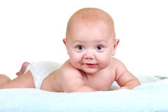 Chubby Baby Royalty Free Stock Image