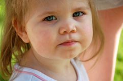Chubby Cheeks Royalty Free Stock Images