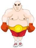 Chubby Man alegre Imágenes de archivo libres de regalías