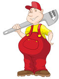 Chubby Men alegre Imagen de archivo