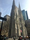 Chuch. A beautiful church in Manhattan Royalty Free Stock Images