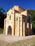 Chuch de San Miguel de Lillo em Oviedo Fotos de Stock