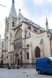 Chuch del santo Severin, París, Francia fotos de archivo