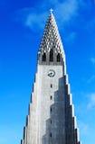 Chuch en reykjavik Foto de archivo libre de regalías