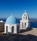 Chuch in Fira. Santorini. Greece. Royalty Free Stock Image