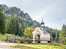 Chuch in forest Stock Photography