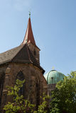 Chuch, Nuremberg, Germany Stock Photography
