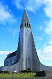Chuch in reykjavik Stock Photo