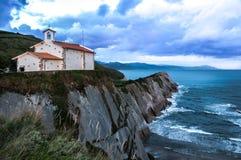 Church of San Telmo stock photo