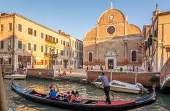 Chuch Santa Maria dei Carmini in Venice Stock Images