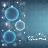 Chuchería abstracta de la Navidad Imagen de archivo libre de regalías