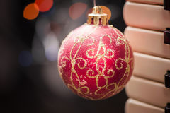 Chuchería de la Navidad Imagen de archivo libre de regalías