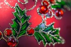 Chuchería de la Navidad Cierre para arriba Fotos de archivo